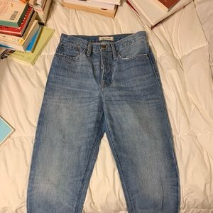 Madewell Dad Jeans!